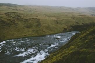Skógafoss River