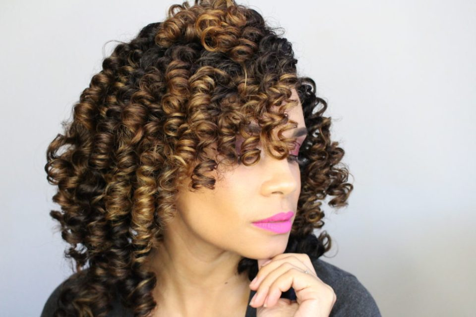 How To Achieve Perfect Curls Using SMALL Perm Rods-Tiffany D. Brown