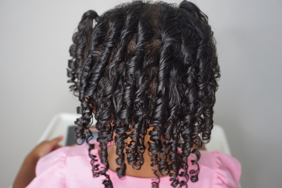 Save Time With This Super Easy Toddler Hairstyle Tutorial-Tiffany Nicole Brown