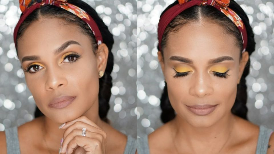 Bright Summer Makeup Look You Need To Try-Tiffany D. Brown