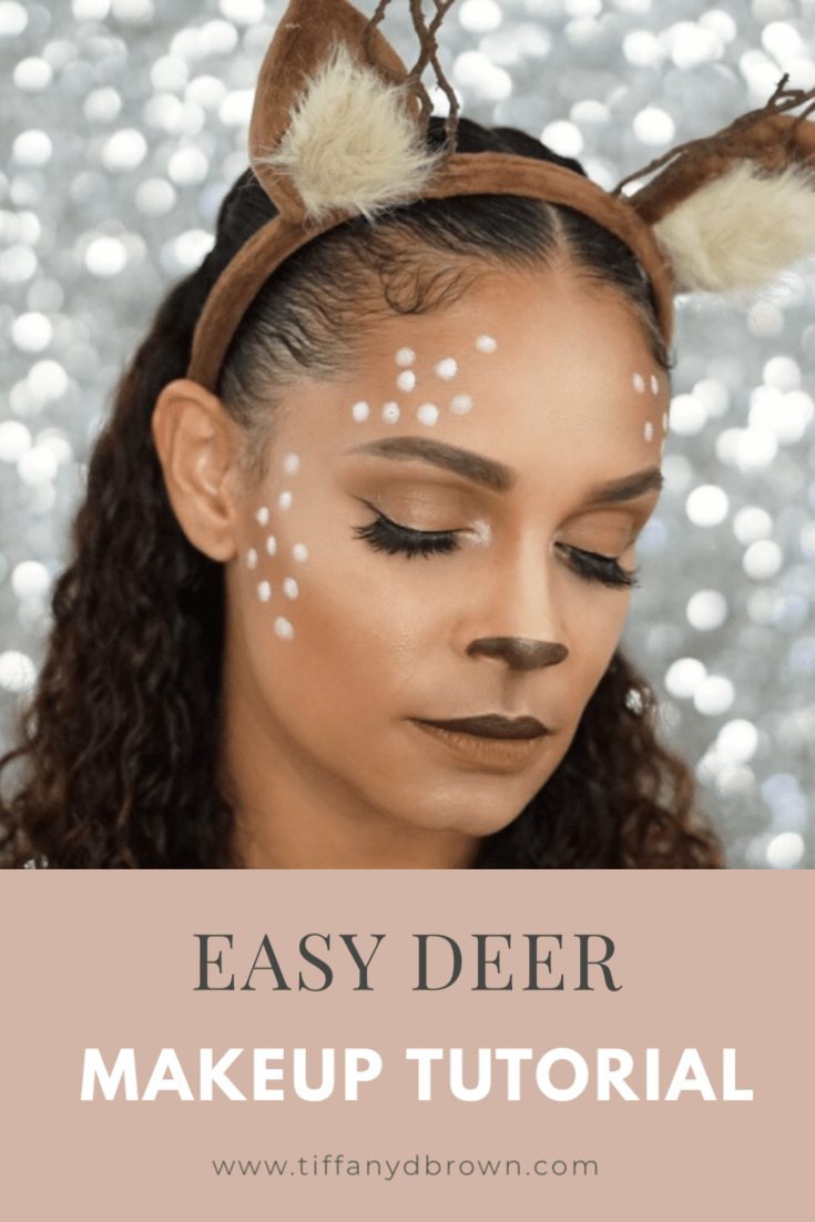 The Deer Makeup Look You Need To Try For Halloween This Year-Tiffany D. Brown