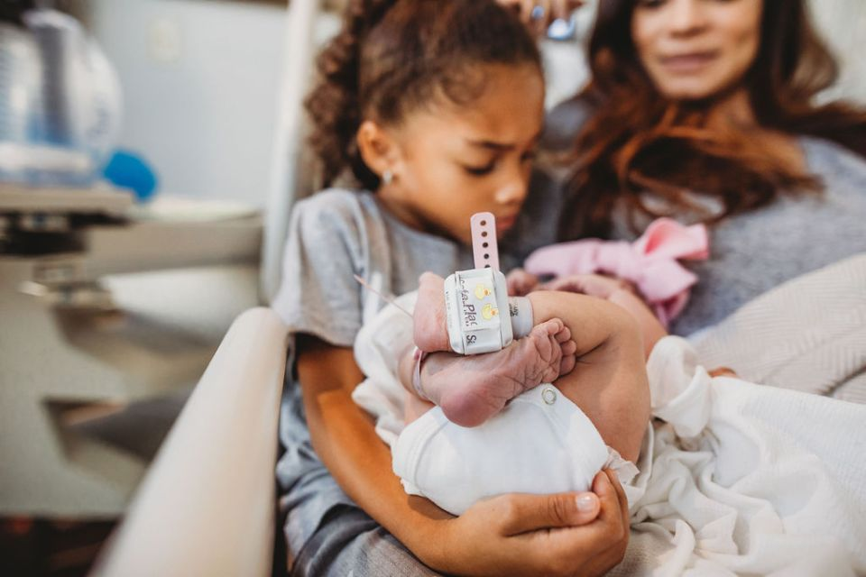 Baby Brown Meets Siblings For The First Time-Tiffany D. Brown