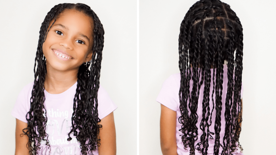 Natural Hair Tutorial: Two-Strand Twists For Little Girls-Tiffany D. Brown