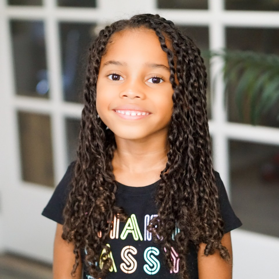 Easy Two-Strand Twist Hairstyle Ideas For Your Little Girl-Tiffany D. Brown