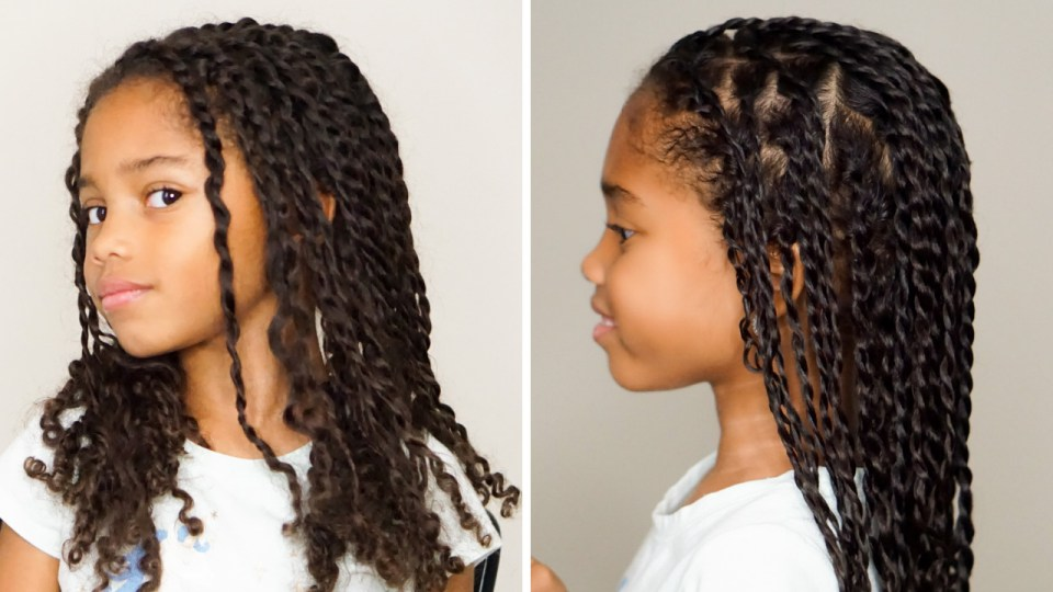How To Refresh Two-Strand Twists For Little Girls-Tiffany D. Brown