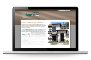 Bearclaw Gutters website