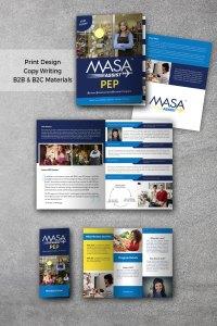 MASA PEP brochures