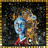 Recycled woman