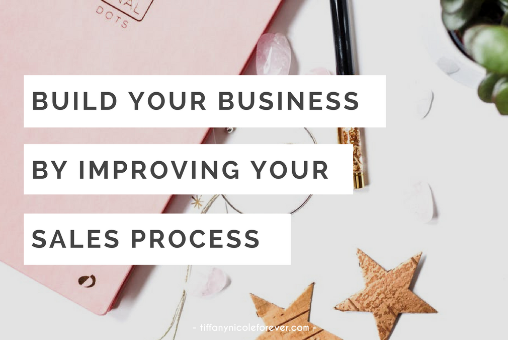 improve your business by increasing your sales - Tiffany Nicole Forever