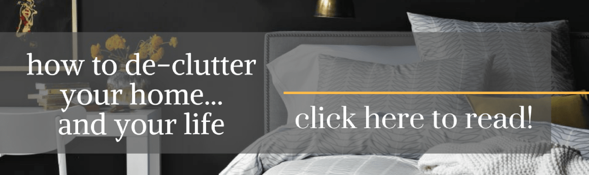 how to de-clutter your home and your life - Tiffany Nicole Forever Blog