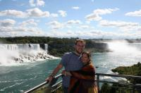 honeymoon at the falls