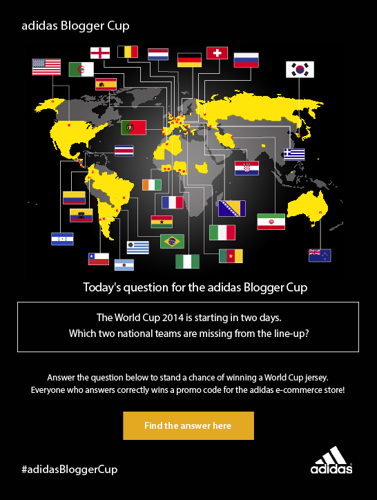 adidas Blogger Cup question 4