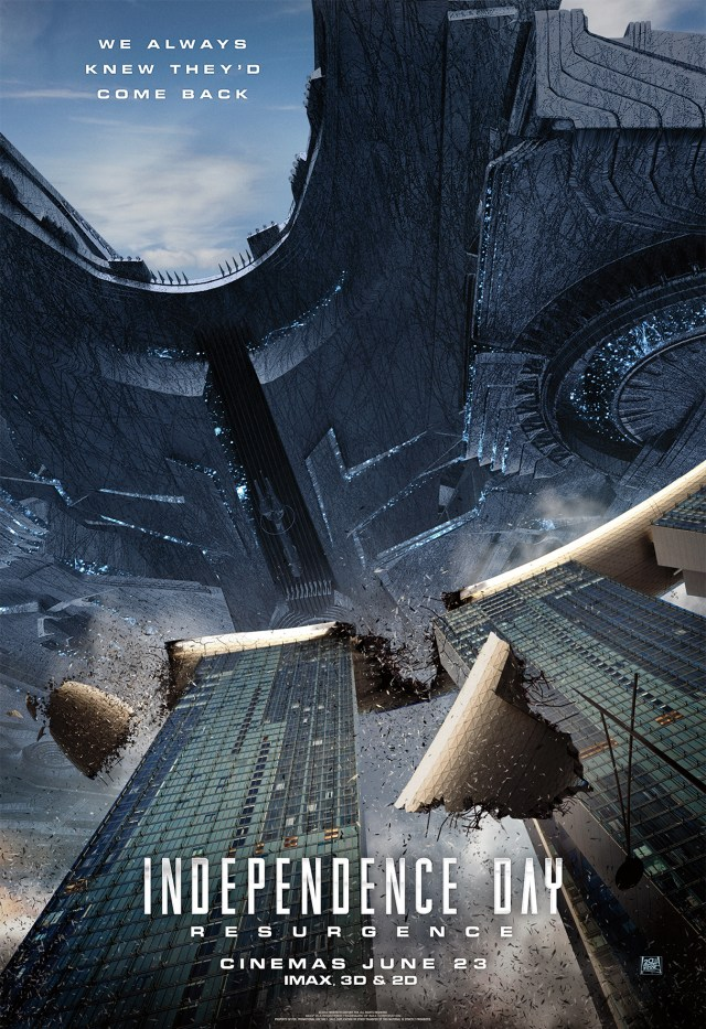 Independence Day: Resurgence Singapore-poster