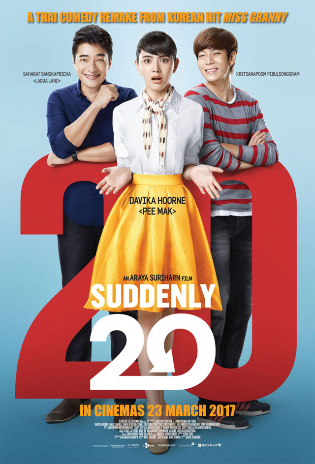Suddenly Twenty Thai Movie Poster