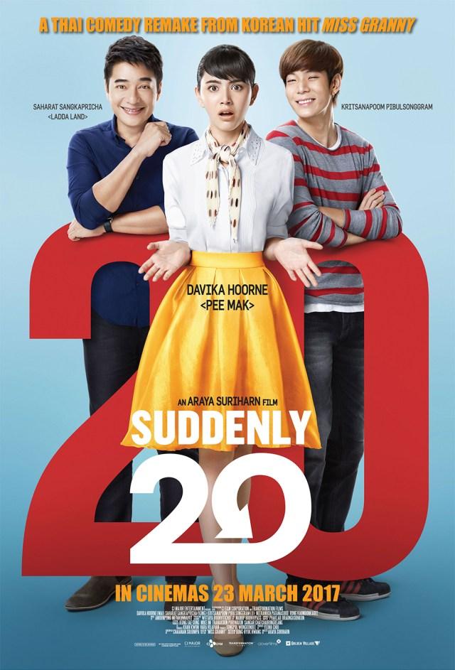 Suddenly Twenty Thai Movie Poster