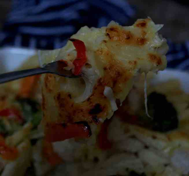 xcheesy broccoli pasta bake