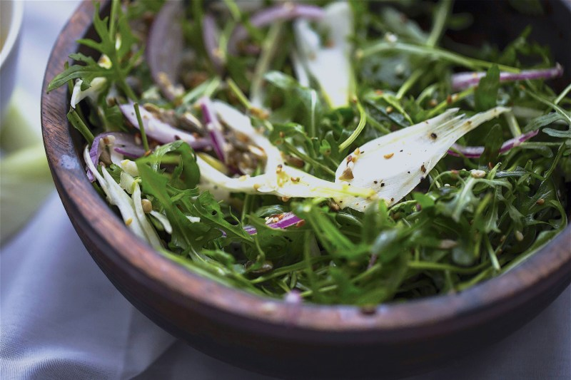 Rocket and Fennel Salad with Sumac