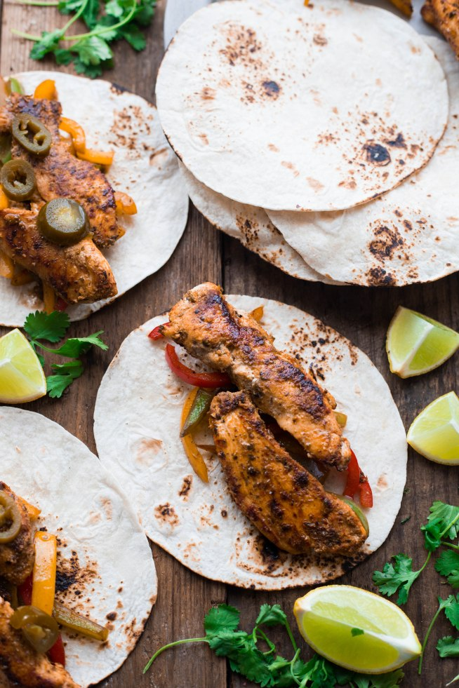 Blackened Chicken Fajitas