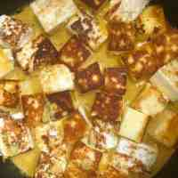 Paneer added to pot