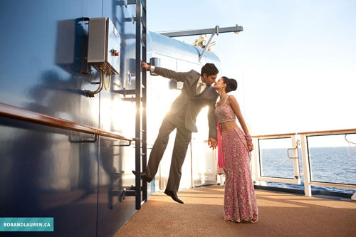Romantic Kiss On A Boat, by Rob & Lauren Lim