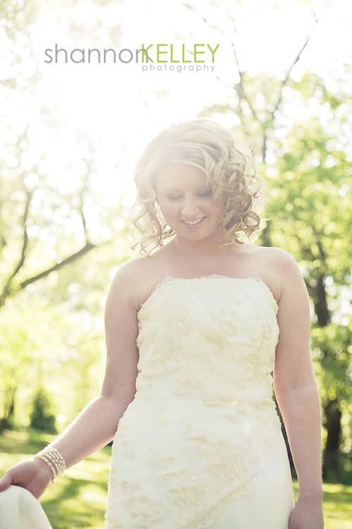 Bridal Portrait by Shannon Kelley