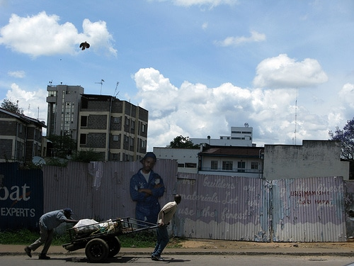 Nairobi Cart, by Ingrid Spangler
