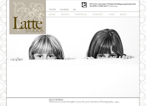 Photography Blogsites - Latte 2