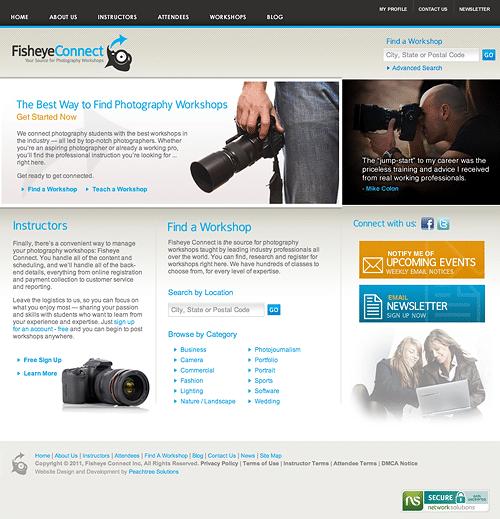 Fisheye Connect Website