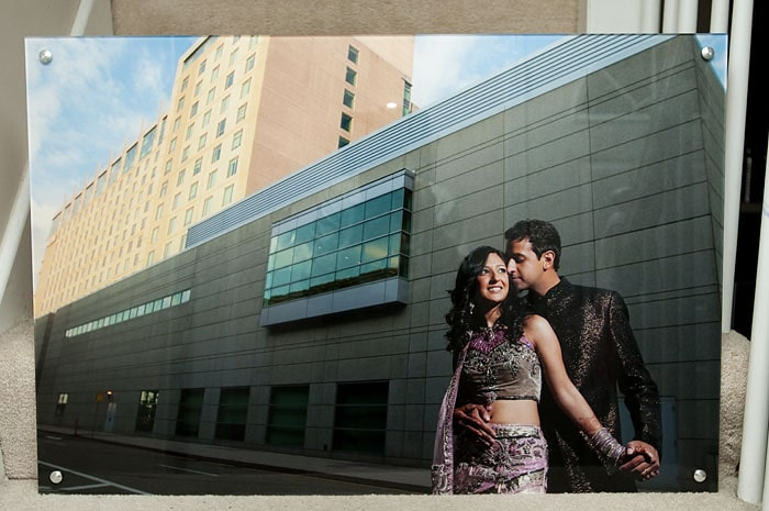 Pictage Acrylic Panel Sample - Indian Wedding At The Westin Boston Waterfront