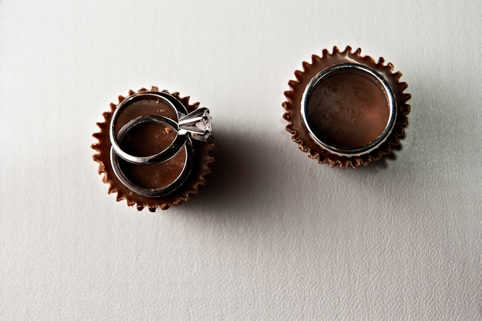 Doug Levy Wedding Ring Shot | Reese's Pieces