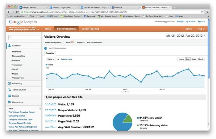Chris Cummins   Google Analytics