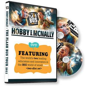 David Hobby & Joe McNally Flash Bus DVD Set