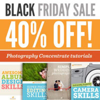 Photography Concentrate Black Friday & Cyber Monday Deals on Tutorials