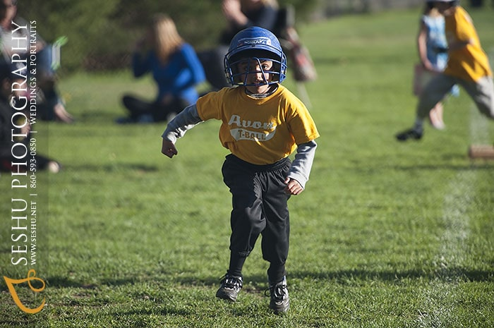 © Seshu Photography | Running Bases At Sperry Park In Avon, CT