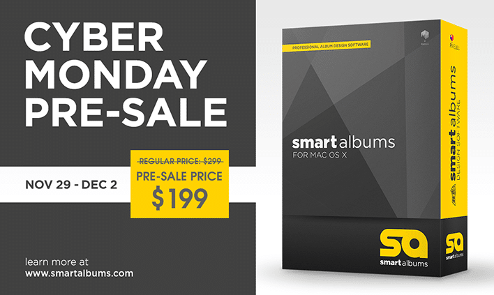 SmartAlbums Black Friday Cyber Monday Special Price