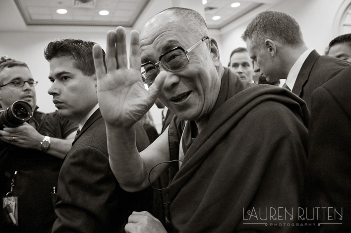 Lauren Rutten Photography - Dalai Lama