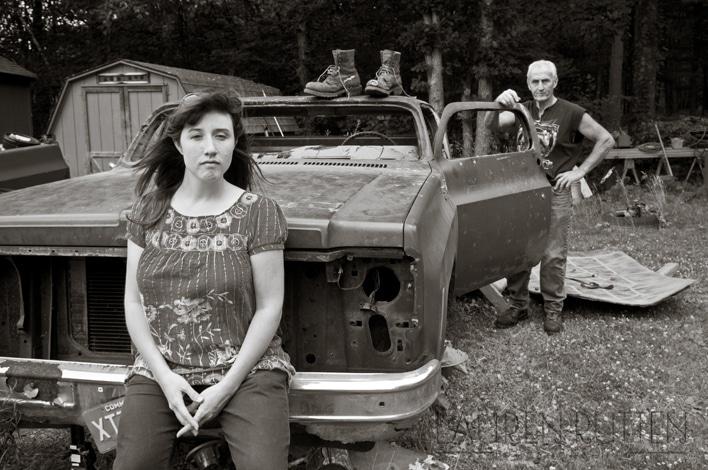 Lauren Rutten Photography - Black & White Portrait