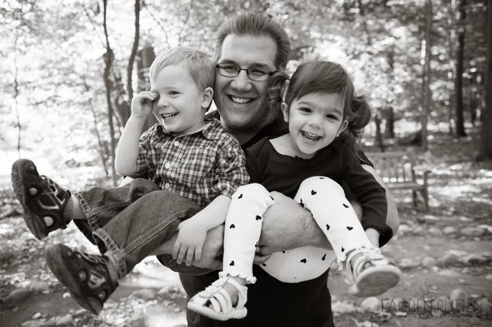 Lauren Rutten Photography - Father & Kids