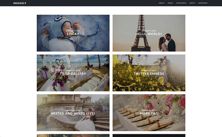 WordPress Service For Photographers: Imagely