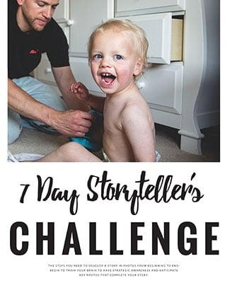 7 Day Storyteller Challenge