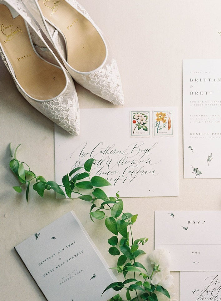 Jen Huang: Fine Art Wedding Photography, Top Down Look At Details