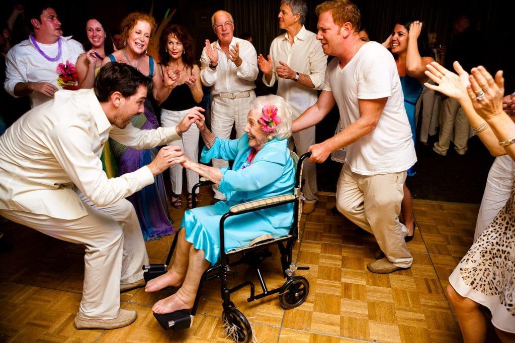 Create Client Experiences: Grandma On The Dance Floor