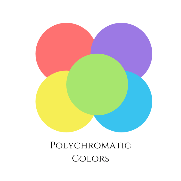 polychromatic colors