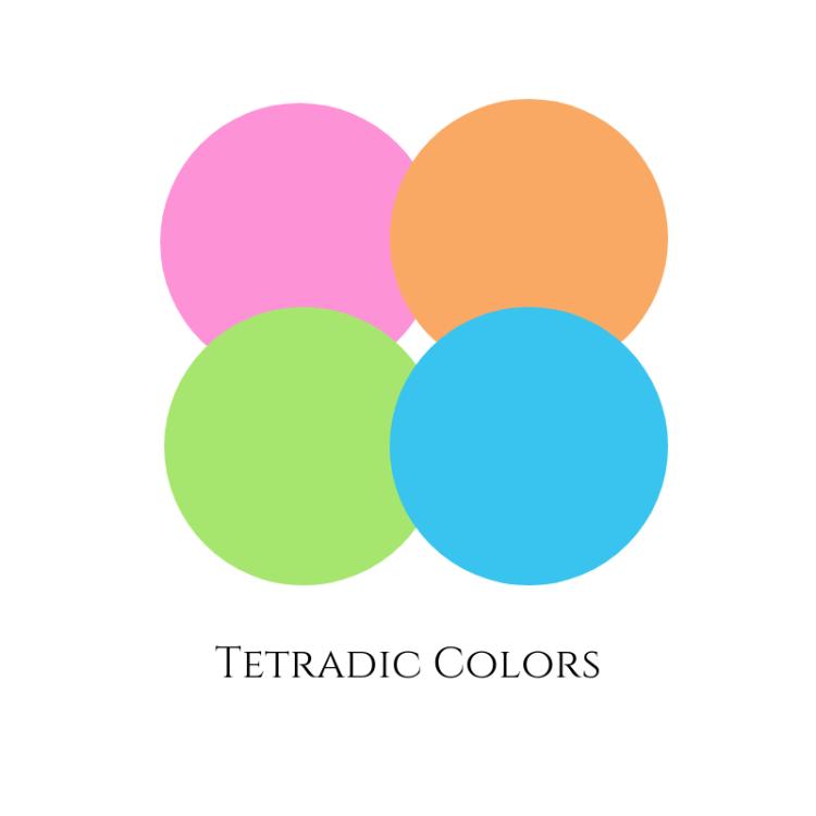 tetradic colorx