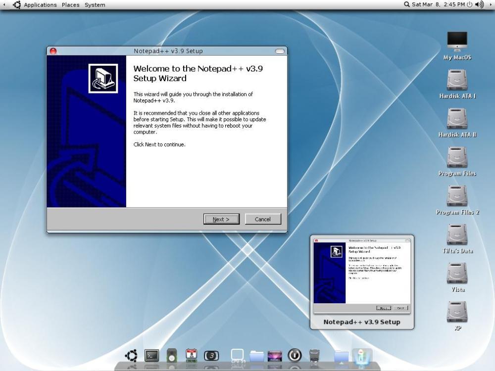 Ubuntu Macintosh Editio (Bagian 2)... (4/6)