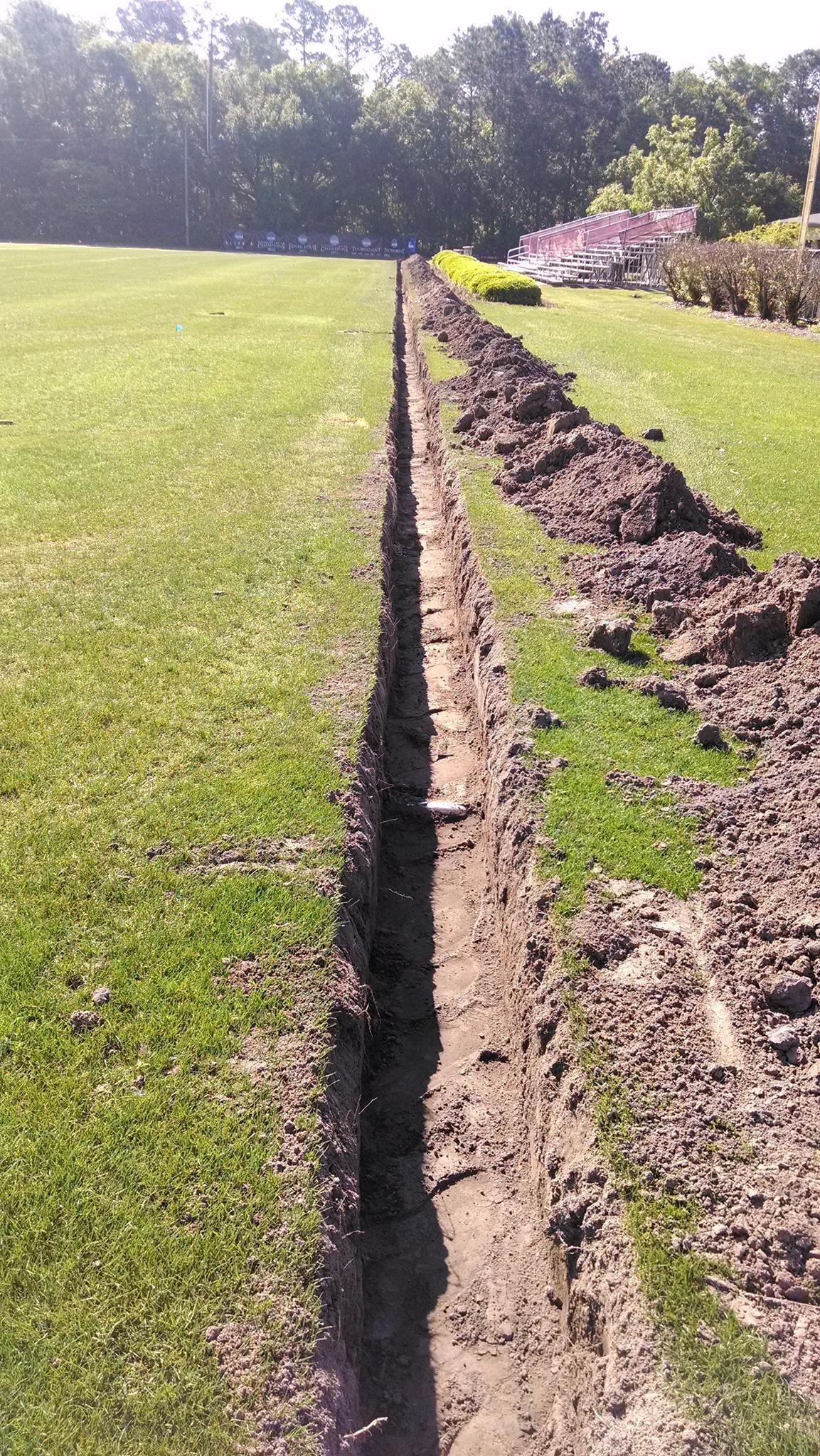 2 2 drain tile install established