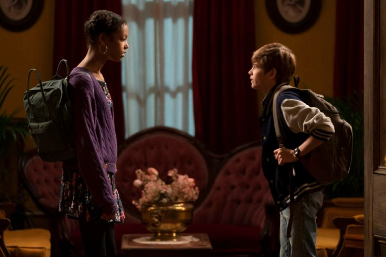Watch: Griffin & Harper Get Locked In The Tremont Hotel In This Exclusive  'Secrets of Sulphur Springs' Sneak Peek Clip | TigerBeat