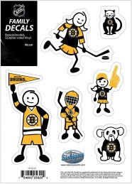 Bruins Family Decal Set Small