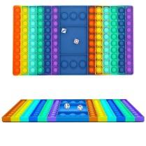 Rainbow Bubble Pop Game Board