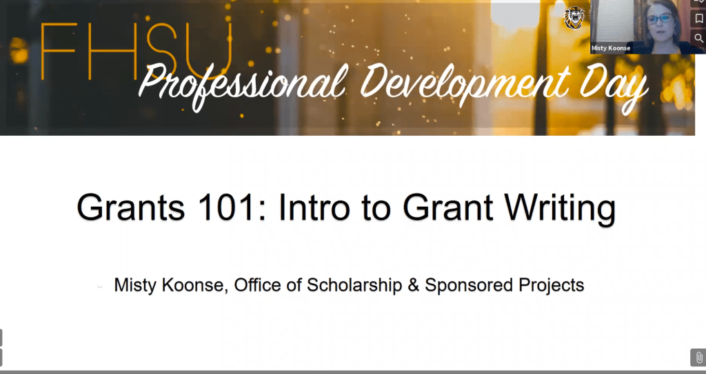 Grants 101: Intro to Grant Writing